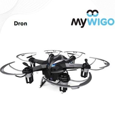 "MyWigo, colaborador oficial del ""Bueu Dron Festival"","