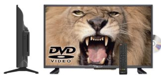"Nevir NVR-7421 23HDDVD-N, TV D-LED de 32"" con DVD"