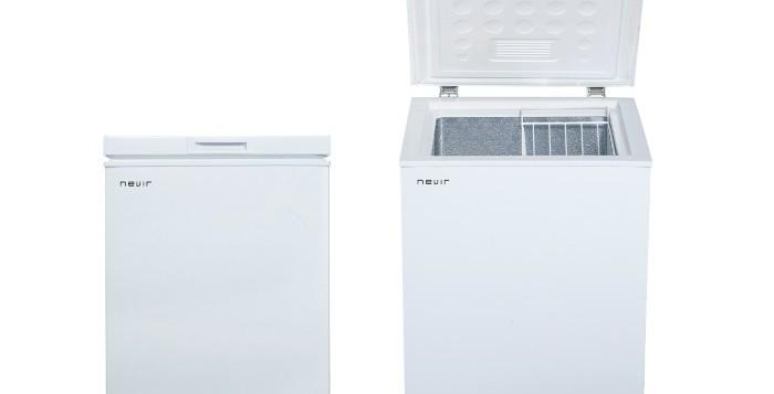 Nevir amplía su gama blanca con un nuevo arcón compacto y un lavavajillas, imagen arcon congelador