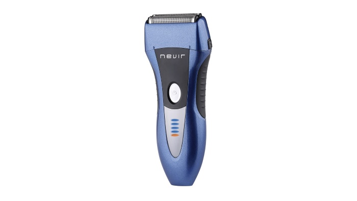 Nevir amplía su gama de cuidado personal con una afeitadora recargable, modelo NVR-9933 ME azul