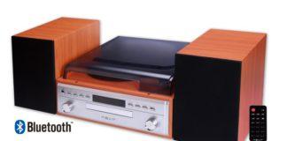 Nevir lanza una minicadena CD con tocadiscos