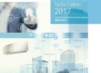 Nueva Tarifa 2017 de Daikin