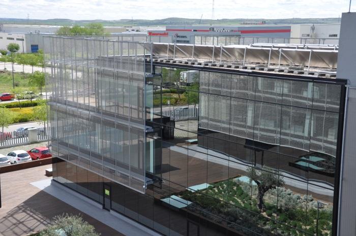 Las oficinas de eurofred en madrid reciben la for Oficinas aena madrid