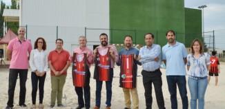 Palletways Iberia, patrocinador del equipo de Balonmano Playa