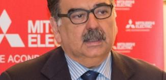 Pedro Ruiz, director general de la división de aire acondicionado de Mitsubishi Electric