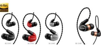 Pioneer presenta sus nuevos auriculares SE-CH con certificación Hi-Res Audio,