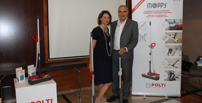 Polti presenta a nivel mundial su revolucionario sistema de limpieza Moppy