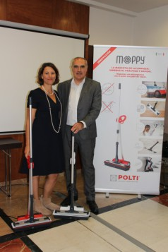 Polti presenta su revolucionario sistema de limpieza Moppy
