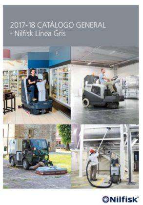 Poprtada catálogo general Nilfisk Línea Gris