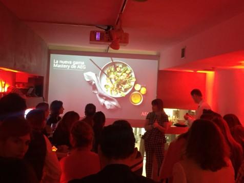 Presentación nueva gama de cocina Mastery de AEG