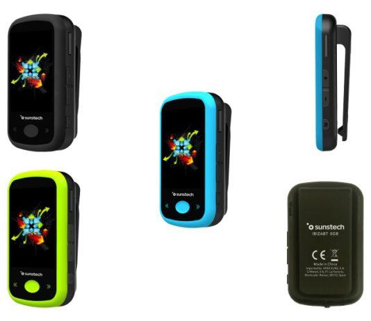 Reproductor MP4 Bluetooth IbizaBT, de Sunstech