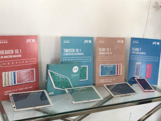 SPC nuevos tablets