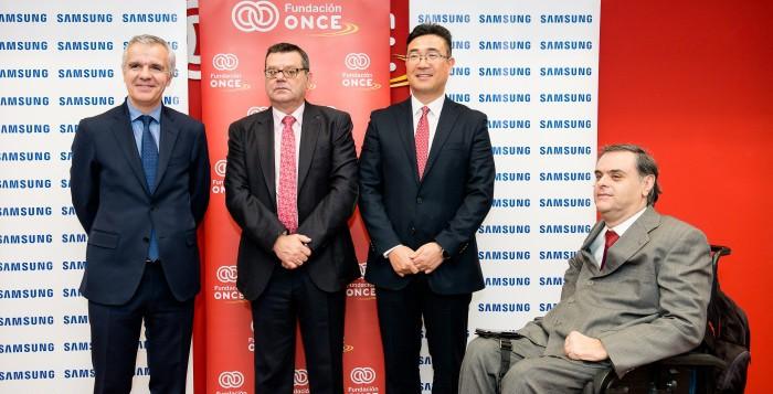 Samsung y la Fundación ONCE favorecen la inclusión de las personas con discapacidad a través de la tecnología
