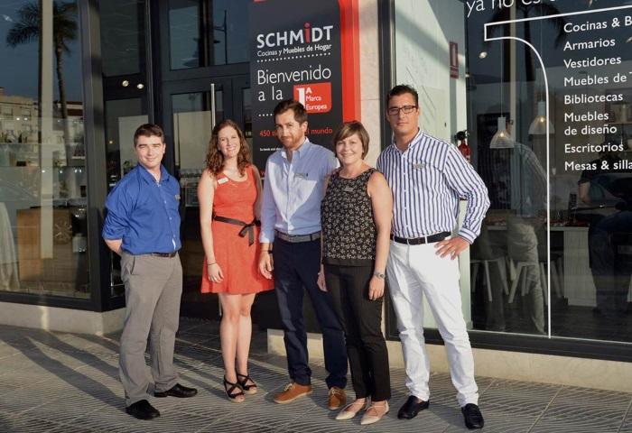 Schmidt cocinas abre nueva tienda en v lez m laga marr n - Cocinas schmidt malaga ...