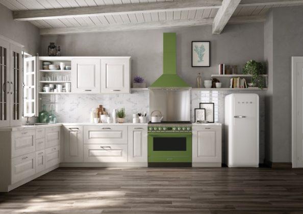 Smeg lanza su nueva colección de cocinas Portofino, imagen ambiente