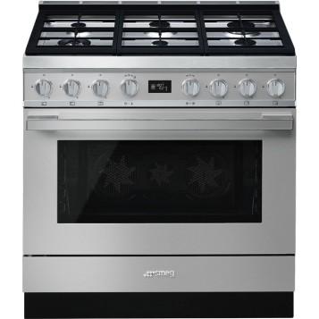 Smeg lanza su nueva colección de cocinas Portofino, modelo CPF9GPX
