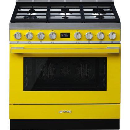 Smeg lanza su nueva colección de cocinas Portofino, modelo CPF9GPYW