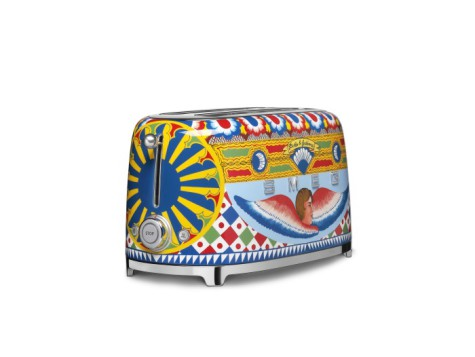 Smeg presenta su nueva colección de PAE �Sicily is my love�, tostador