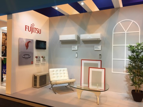 Stand Fujitsu en Climatización 2017