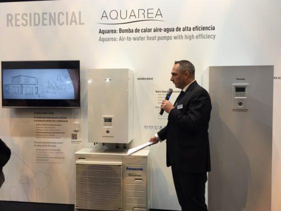 Stand Panasonic Aquarea en Climatización 2017