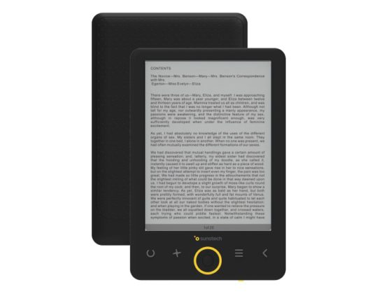Sunstech renueva su gama de ebooks, modelo EBI8