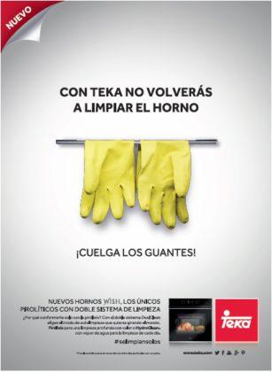 """Teka """"Cuelga los guantes"""" en su nueva campaña de comunicación de hornos Dualclean"""
