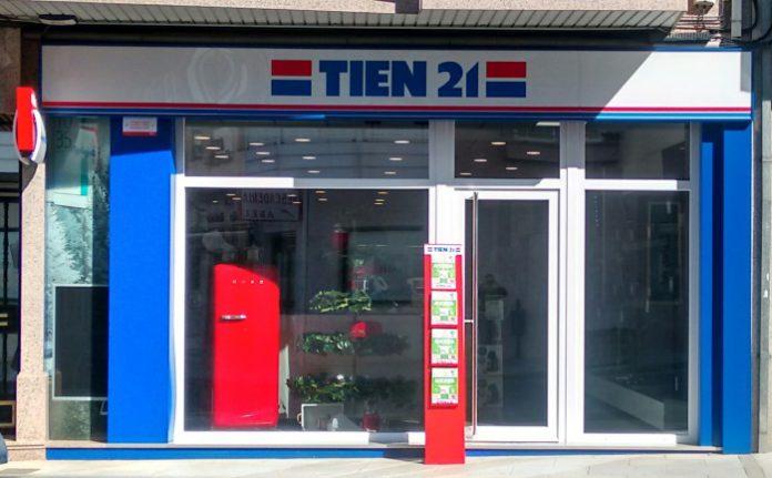 Tien 21 abre una nueva tienda en Pontevedra, escaparate
