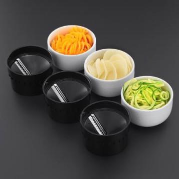 Ultimate Spiralizer de Russell Hobbs, una original forma de incluir verduras en la dieta, accesorios