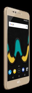 Wiko Upulse, el nuevo modelo de smartphone la gama U de Wiko, color oro