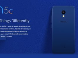 Ya está disponible en el mercado el Meizu M5c