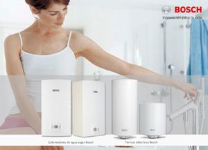 Bosch termotecnia introduce calentadores de agua a gas y - Calentadores de gas bosch ...